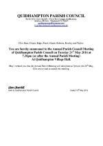 2016-05-24 QPC agenda