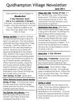 110603revA5 Quidhampton Newsletter June 2011