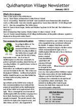 130101a5 Quidhampton Village Newsletter January 2013