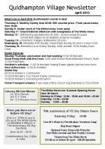 150330a Quidhampton Village Newsletter April 2015
