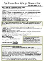150630a5 Quidhampton Village Newsletter July Aug 2015