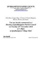2014-11-25 QPC agenda