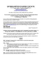 2017-12-12 QPC planning agenda