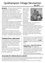 110503 A5 Quidhampton Newsletter May 2011