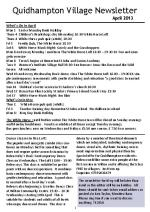 130401a5 Quidhampton Village Newsletter April 2013
