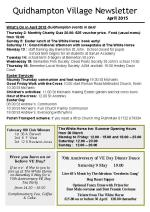 150330a Quidhampton Village Newsletter April 2015