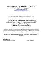 2014-01-28 QPC agenda