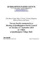 2014-09-23 QPC agenda