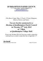 2014-07-22 QPC agenda