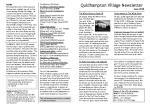 100602 Quidhampton Newsletter June 10