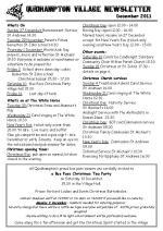 111209cA5 Quidhampton Village Newsletter December 2011real final