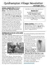 110628 a5 Quidhampton Newsletter JulyAug 2011