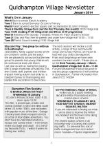 140102a5 Quidhampton Village Newsletter January 2014
