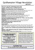 160402r Quidhampton Village Newsletter April 2016