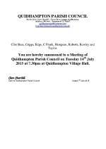 2015-07-14 QPC agenda
